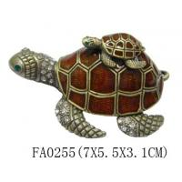 Buy cheap Turtle antique trinket box product