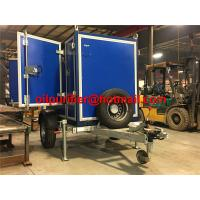 Buy cheap Trolley Industrial Waste Transformer Oil Purification Filtration Machine, onsite transformer oil treatment purifier product