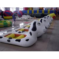 Buy cheap Amusement Park fireproof PVC tarpaulin Inflatable Boat Water Entertainment product