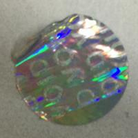 Buy cheap Tamper Evident Void Hologram Sticker / Hot Stamp Stickers Glossy Varnish product