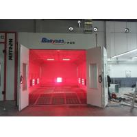 Buy cheap EPS Wall Infrared Spray Booth Auto Paint Room color Optional Eco Friendly product