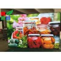 Depth 30mm LED Fabric Light Box Textile Frame For Restaurant Menu Board