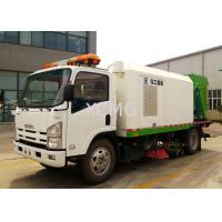 Buy cheap Tunnel And Bridge Washing Road Sweeper Truck 8tons With Washer product