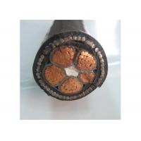 Buy cheap 600/1000V  4phase 4+1 Core Low Voltage Electrical Cable XLPE/PVC Insulation product
