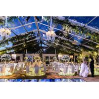 Buy cheap Transparent Roof Tent Outdoor Wedding Marquee Aluminum Party Structure from wholesalers