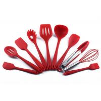Buy cheap Food grade , Protect the pan , Heat resistance , Silicone Kitchen Utensils Set , 10pcs product