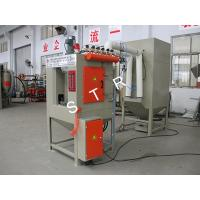 Buy cheap Rotary Sandblasting Machine Automatic Frequency Control Drum Turning Speed product