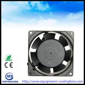 Buy cheap Metal Ball Bearing Cpu Computer Case Cooling Fans , 110v - 240v Ac Axial Fan product