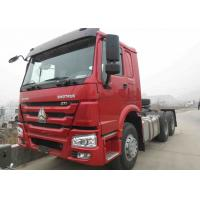 China Manual Gearbox 6X4 New SINOTRUK Tractor Head / Trailer Head Truck Low Prices on sale