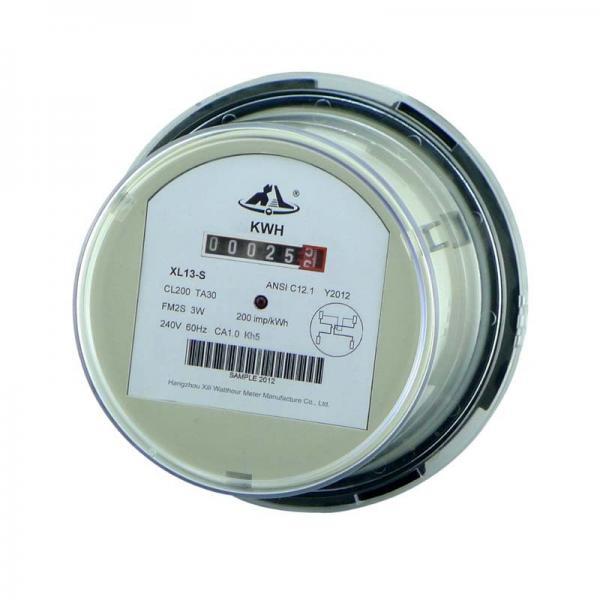 Kilowatt Hour Meter : Smart electromechanical socket energy meter kilowatt