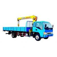 Buy cheap XCMG Telescoping 3.2 Ton SQ3.2SK1Q Truck Mounted Crane With 7m Lifting Height from wholesalers