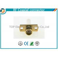 Buy cheap SMA Jack Straight Panel Coaxial Cable Connectors TOP-SMA11 for Solder product