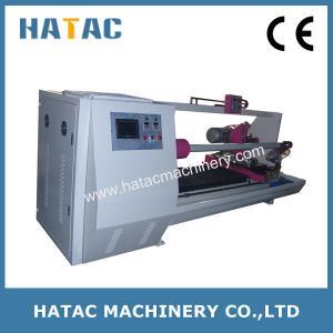 Buy cheap Masking Tape/Double-side Tape Log Roll Cutting Machine,Tape Cutting Machinery product