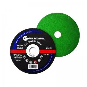 """Buy cheap GRASSLAND 4"""" 100mm Stainless Steel Cutting Discs x 1mm x 16mm Angle Grinder product"""