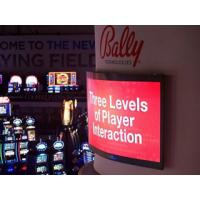 RGB Full Color Synchronous P10 Flexible LED Screens For Advertising Display