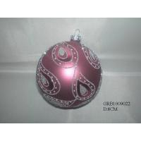 Buy cheap Glass ball ornament product