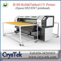 Buy cheap CrysTek CT-R180 roll and flatbed UV printer with Epson dx5/dx7 printhead from Wholesalers