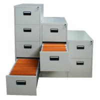 Quality Powder coating vertical file cabinet with 4 drawers for sale