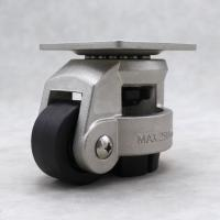 Buy cheap Heavy Duty Leveling Casters Swivel Mounting 304 Stainless Steel Top Plate from wholesalers