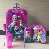 China Hot sale   6D    Kids   Trolley  3 pcs / trolley school bags  / children travel bags on sale