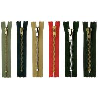 Quality Semi-auto lock 8# metal zipper ,eco-friendly,OEM available for garment for sale