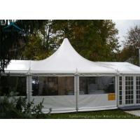 Buy cheap 10m * 25m White Marquee Western Shelter Tents With Sun Proof Tent Fabric from Wholesalers