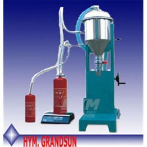 Buy cheap Fire extinguisher Powder filling machine GFM16-1 product