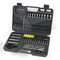Buy cheap Durable 110pcs HSS Twist Drill Bit Sets for Drilling Metal and Wood and Concrete product