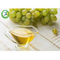 Buy cheap Pharmaceutical Materials Yellow Liquid Grape Seed Oil To Dissolve Steroid product