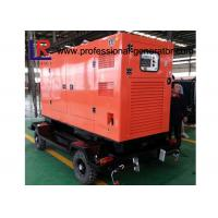 Buy cheap Water Cooled 100kVA Diesel Trailer Generator Cummins Engine With Soundproof Canopy from Wholesalers