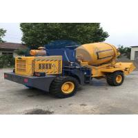 Buy cheap Adjustable Mobile Volumetric Concrete Mixers , 6252 X 2200 X 2892mm Self Mixing Concrete Truck product