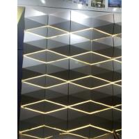 Buy cheap Light Weight 3D Cladding Panels With Or Without Perforated ACP / Aluminum Composite Panel product