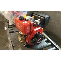 High Efficient Single Cylinder Air Cooled Diesel Engine For Boats /  Water Pumping