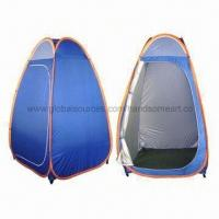 Buy cheap Changing Tent/Toilet Tents/Shower Tents, Sized 120 x 120 x 200cm, 190T Polyester from Wholesalers