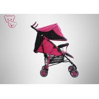 Buy cheap Colorful Baby Trend Umbrella Stroller ,  Safety Lock Red Umbrella Stroller product