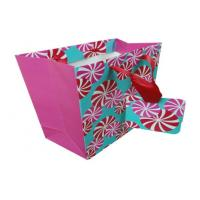 Buy cheap Reusable Paper Carrier Bags Colorful Hot Stamping for Clothes product