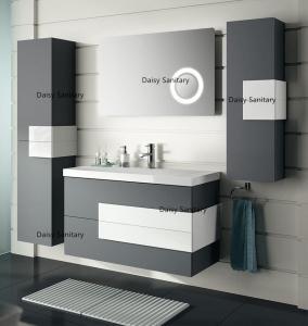 High Moisture Resistant MDF Bathroom Vanity Not Easy Deformation For Humid Area