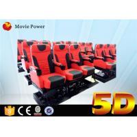 Buy cheap Theme Park 5D Movie Theater 3dof Platform Electric Or Hydraulic Supply product
