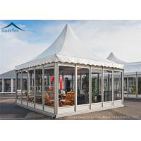 Buy cheap European Aluminum Pagoda Tents With Glass Wall For Outdoor Event from Wholesalers