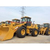 China Yellow Color Compact Track Loader , Articulated Type Mini Wheel Loader on sale