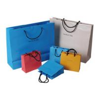 Buy cheap High quality different shape design cosmetic paper bag, cosmetic shopping bag product