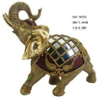 Buy cheap Home Decoration Polyresin Elephant Figurine (D24-70720) product