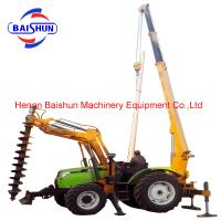 Buy cheap Professional Hand Post Hole Digger With Wooden Handle In Tangshan Longwei product