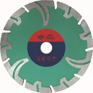 Buy cheap 105mm Segmented Diamond Saw Blade , 5 Inch Diamond Saw Blade   By Protect Teeth product