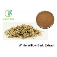 White Willow Bark Extract Powder Curing Cold 5% - 98% Salicin Extract CAS 84082-82-6