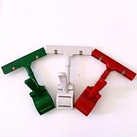Buy cheap Colorful Thumb Price Tag Holder Clip , Supermarket Pop Clip In Red Green White product