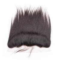 Buy cheap 13*4 Natural Peruvian human hair body wave top quality virgin lace frontal product