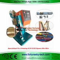 Buy cheap 1.8T Benchtop Wire Splicing Machine Wire Splicer Wire Splice Machine Neon and resistor connection LED wire connection product