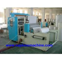 Buy cheap Vacuum Absorbing M Fold Paper Towel Printing Machine , PLC Computer Controller product