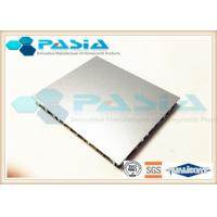 Buy cheap Fireproof Lightweight Metal Panels , Honeycomb Steel Plate Anti Pollution product